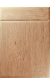 unique oslo light winchester oak kitchen door