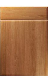 unique oslo natural aida walnut kitchen door