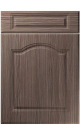 unique ribble brown grey avola kitchen door