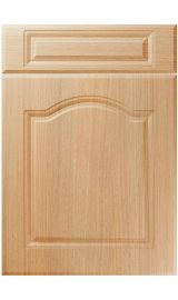 unique ribble light ferrara oak kitchen door