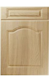 unique ribble lissa oak kitchen door