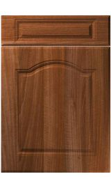 unique ribble opera walnut kitchen door