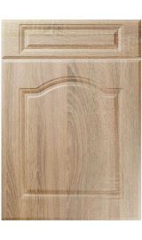 unique ribble sonoma oak kitchen door
