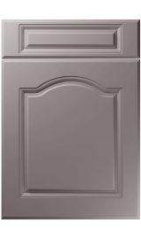 unique ribble super matt dust grey kitchen door
