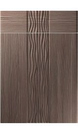 unique sahara brown grey avola kitchen door