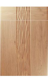 unique sahara light winchester oak kitchen door