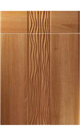 unique sahara natural aida walnut kitchen door