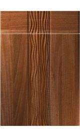 unique sahara opera walnut kitchen door