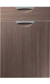 unique scoop brown grey avola kitchen door
