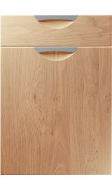 unique scoop light winchester oak kitchen door