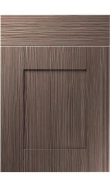 unique shaker brown grey avola kitchen door