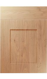 unique shaker light winchester oak kitchen door