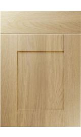 unique shaker lissa oak kitchen door