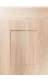 unique shaker moldau acacia kitchen door