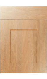 unique shaker montana oak kitchen door
