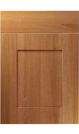 unique shaker natural aida walnut kitchen door