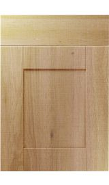 unique shaker odessa oak kitchen door