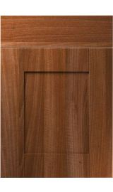 unique shaker opera walnut kitchen door