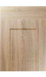 unique shaker sonoma oak kitchen door