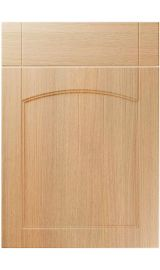 unique sutton light ferrara oak kitchen door