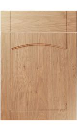 unique sutton light winchester oak kitchen door