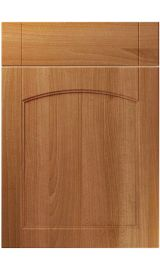 unique sutton natural aida walnut kitchen door