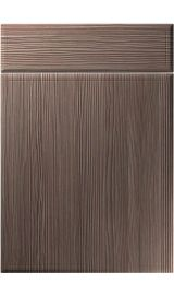 unique turin brown grey avola kitchen door