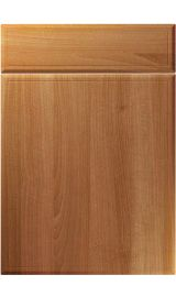 unique turin natural aida walnut kitchen door