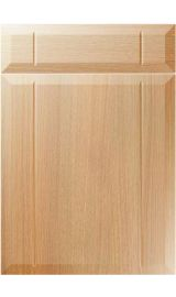 unique twinline light ferrara oak kitchen door