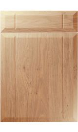 unique twinline light winchester oak kitchen door