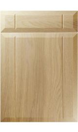 unique twinline lissa oak kitchen door