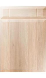 unique twinline moldau acacia kitchen door