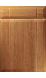 unique twinline natural aida walnut kitchen door
