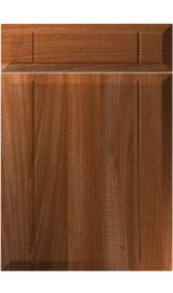 unique twinline opera walnut kitchen door