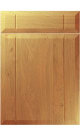 unique twinline winchester oak kitchen door
