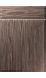 unique verona brown grey avola kitchen door