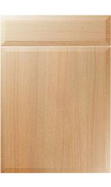 unique verona light ferrara oak kitchen door