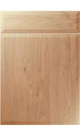 unique verona light winchester oak kitchen door