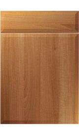 unique verona natural aida walnut kitchen door