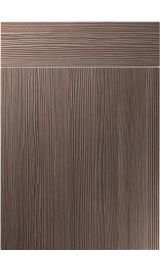 unique vienna brown grey avola kitchen door
