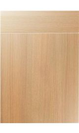 unique vienna light ferrara oak kitchen door
