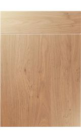 unique vienna light winchester oak kitchen door