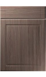 unique willingdale brown grey avola kitchen door
