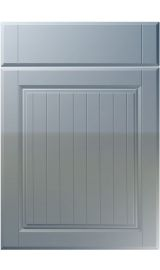 unique willingdale high gloss denim kitchen door