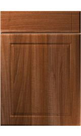 unique willingdale opera walnut kitchen door