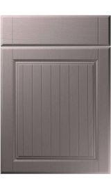 unique willingdale painted oak dust grey kitchen door