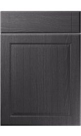 unique willingdale painted oak graphite kitchen door