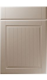 unique willingdale painted oak stone grey kitchen door