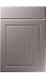 unique willingdale super matt dust grey kitchen door