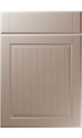 unique willingdale super matt stone grey kitchen door